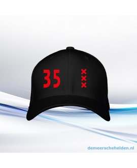 div. Basebal Caps met bedrukking